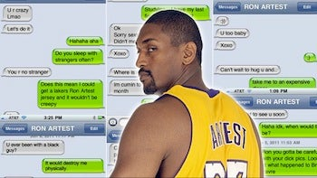 Illustration for article titled Not So Fast: Ron Artest Not Permitted To Change His Name Just Yet