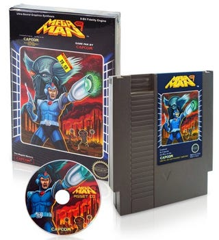 Illustration for article titled Mega Man 9 Press Kit Goes For $750 on eBay