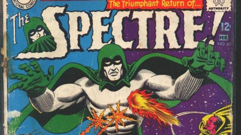 Illustration for article titled Fox developing DC's The Spectre as drama series, one-upping Deadman once again