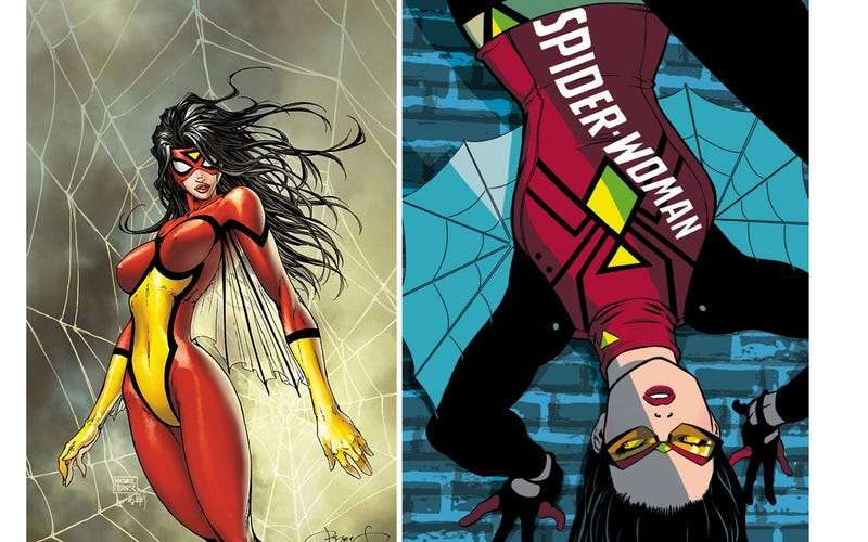Illustration for article titled Spider-Woman Gets Her First Costume Change in Decades