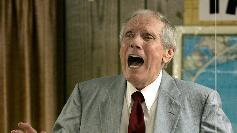"Illustration for article titled Westboro Baptist Church Founder Fred Phelps Sr. ""On the Edge of Death"""