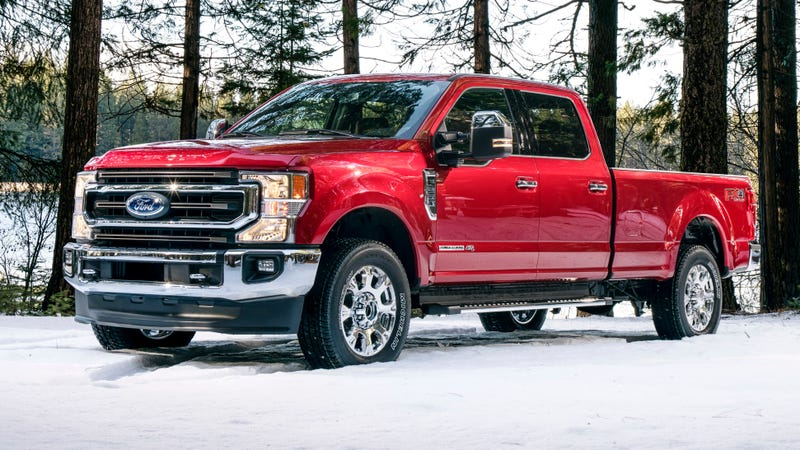 2020 Ford Super Duty Gets Big 7.3-Liter Gas Engine, Torquier Diesel, 10-Speed Auto