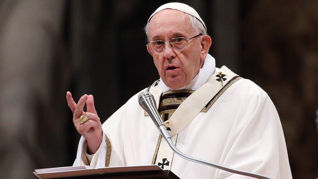 Pope Francis Offers Molested Kids 10% Off At Vatican City Gift Shop