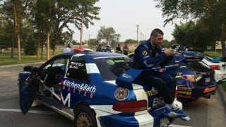 Even rally drivers know it's really a table