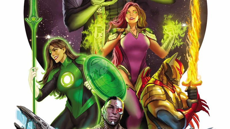Illustration for article titled This Justice League Odyssey exclusive opens a new sector of the DC Universe