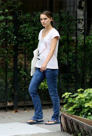 Illustration for article titled Natalie Portman: Pissed? Or Pensive?