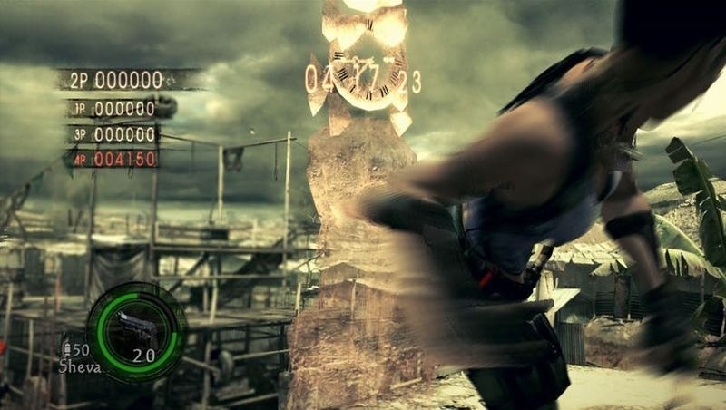 Illustration for article titled Capcom Confirms, Prices Versus Mode for Resident Evil 5