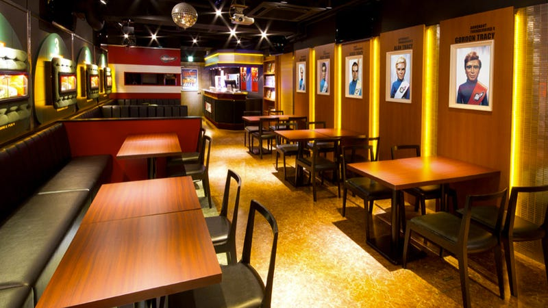 Illustration for article titled Japan Has a Thunderbirds Cafe, and It's Freakin' Amazing
