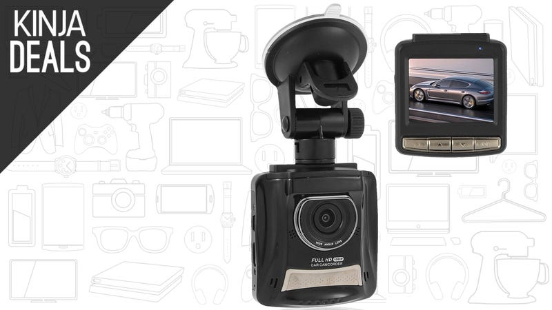 Illustration for article titled Be Prepared For the Worst With This $40 Dashcam.