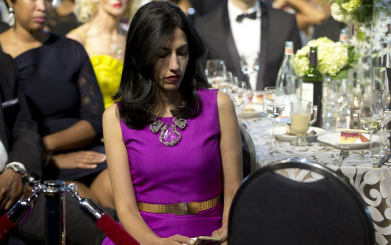 Illustration for article titled Huma Abedin Tweeted. What Happened Next Won't Surprise You.