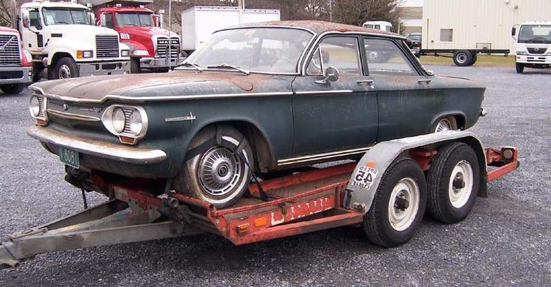 Illustration for article titled The Oldest 24 Hours Of LeMons Car Yet: UDMan's 1963 Corvair