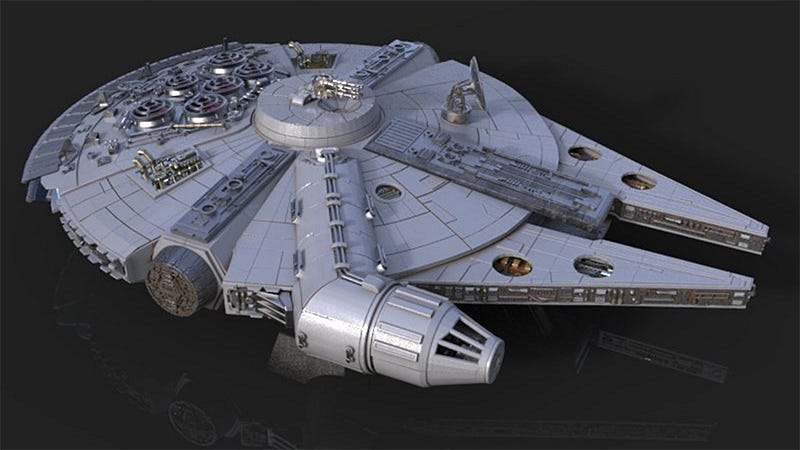 it takes 3 months just to 3d print all the parts for this detailed millennium falcon model. Black Bedroom Furniture Sets. Home Design Ideas