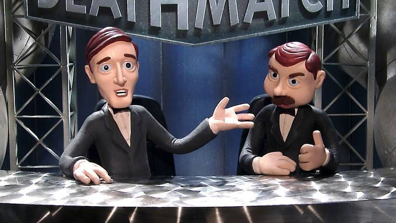 Illustration for article titled Celebrity Deathmatch is coming back to MTV
