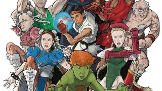 Illustration for article titled The Cast of Community Goes All Street Fighter
