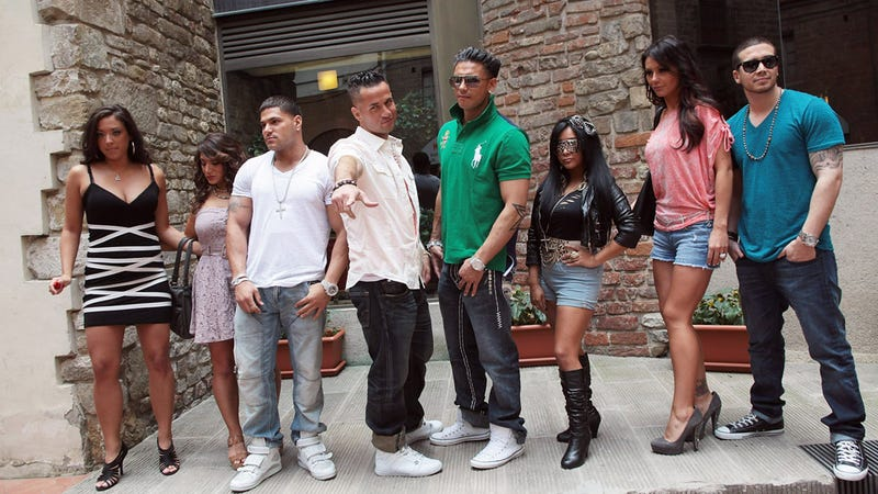 Illustration for article titled Brace Yourselves: The Next Season of Jersey Shore Will Offer 'Fist Pumps and Baby Bumps'