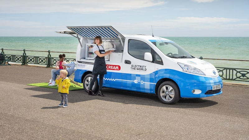 Illustration for article titled Nissan's Ice Cream Truck Prototype Is a Solution to a Quietly Nefarious Problem