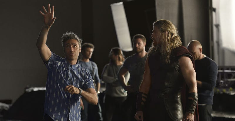 Taika Waititi, left, is about to make as weird a movie as you've ever heard.