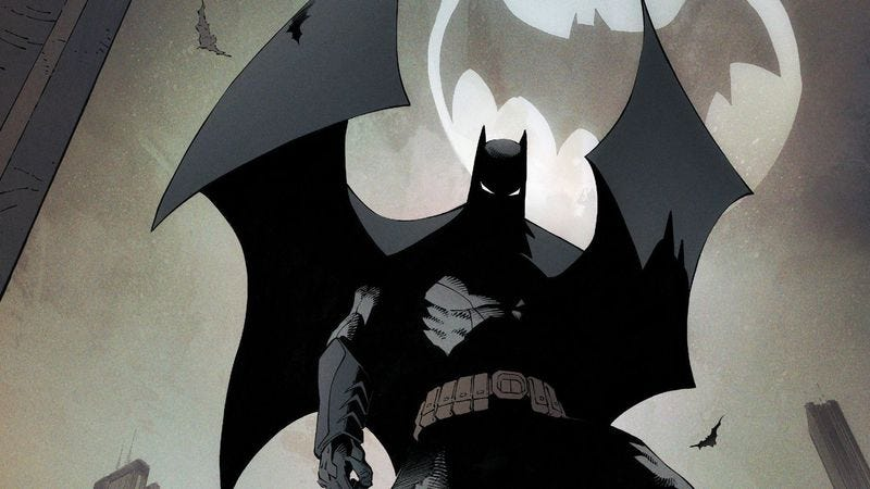 """Illustration for article titled """"Superheavy"""" is the head that wears the cowl in Batman #50"""