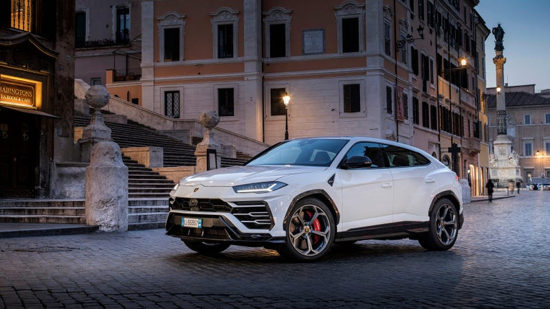 Illustration for article titled Nearly 60 Percent of Lamborghini's Sales So Far This Year Have Been Urus SUVs