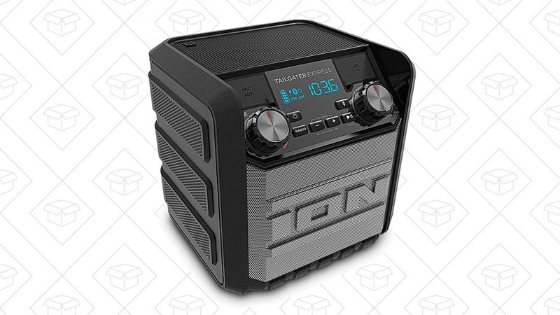 The best new year39s eve deals gopro turbotax dremel and more ion audios tailgater express bluetooth speaker is loud enough to provide music for an entire outdoor barbecue or you know a tailgate and at 50 fandeluxe Image collections