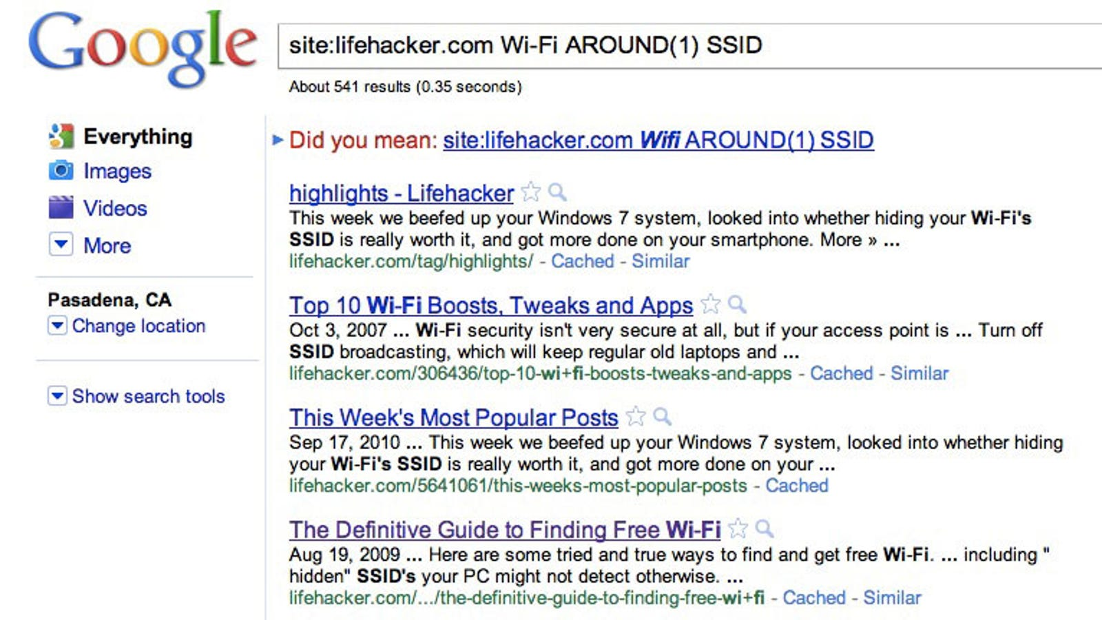 Use The Around Operator In Google Searches For More Specific Results