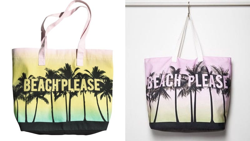 Illustration for article titled Funny, H&M Is Suing Forever 21 Over a Copycat Tote Bag