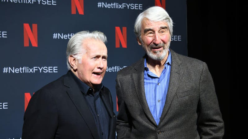 Martin Sheen and Sam Waterston upon hearing about their upcoming scheduled fights.