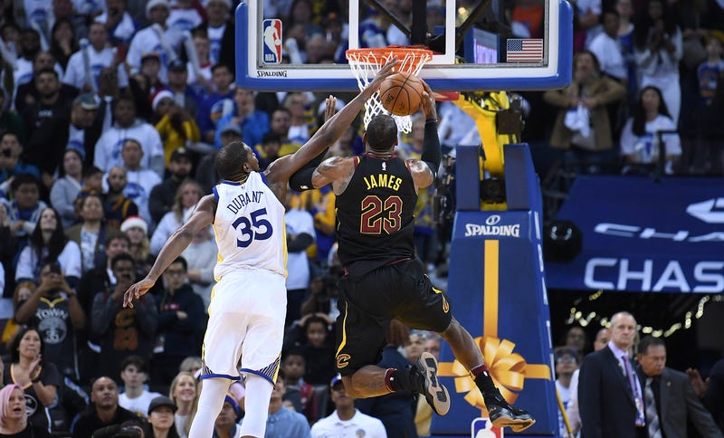 LeBron James fires at officials after Kevin Durant foul debacle