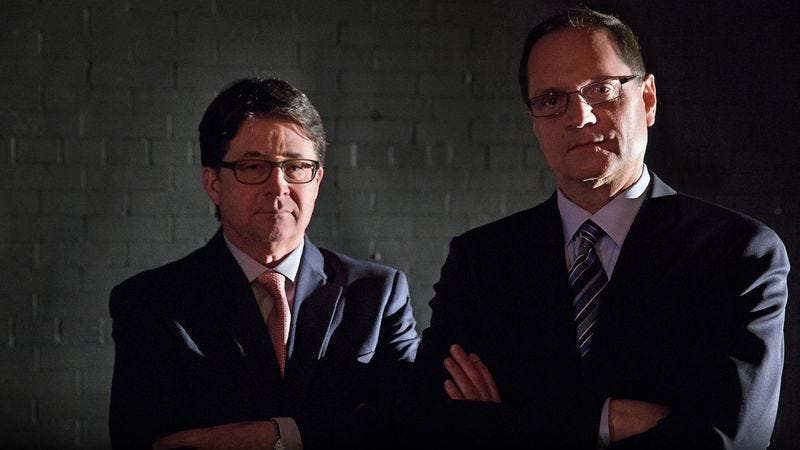 Illustration for article titled Win tickets to see Making A Murderer's Dean Strang and Jerry Buting at The Chicago Theatre