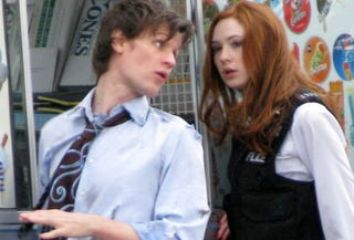 Illustration for article titled New Doctor Who Set Pics Are Arresting, Thrilling