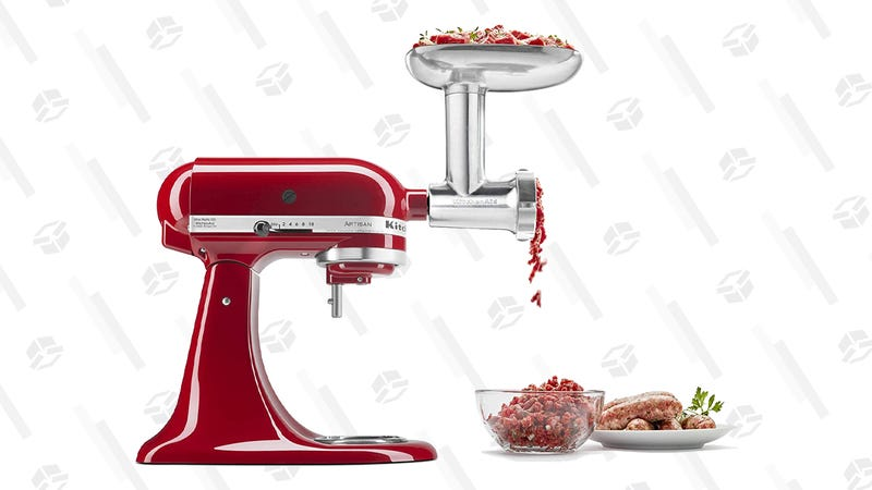 KitchenAid KSMMGA Metal Food Grinder Attachment | $53 | Amazon