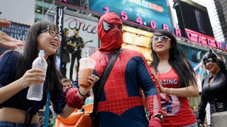 The NYPD Wants Disney To Do Something About Times Square Costumers