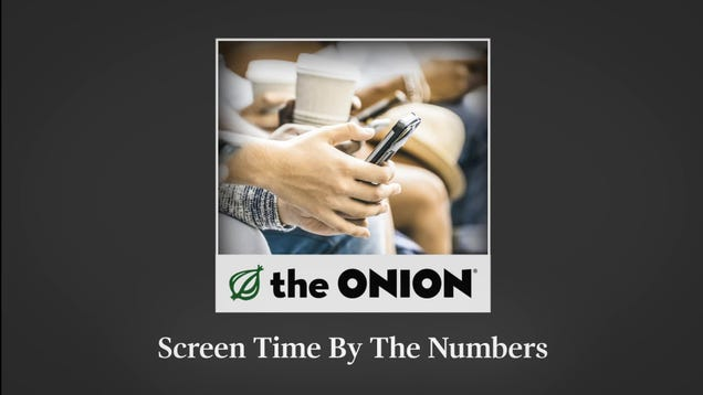 Screen Time By The Numbers