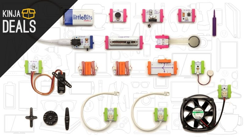 Illustration for article titled Give the Gift of littleBits DIY Electronics Kits, On Sale Today Only