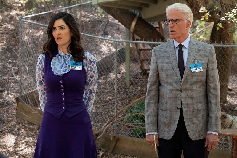 D'Arcy Carden, Ted Danson