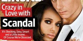 Kerry Washington on Entertainment Weekly cover (Entertainment Weekly)