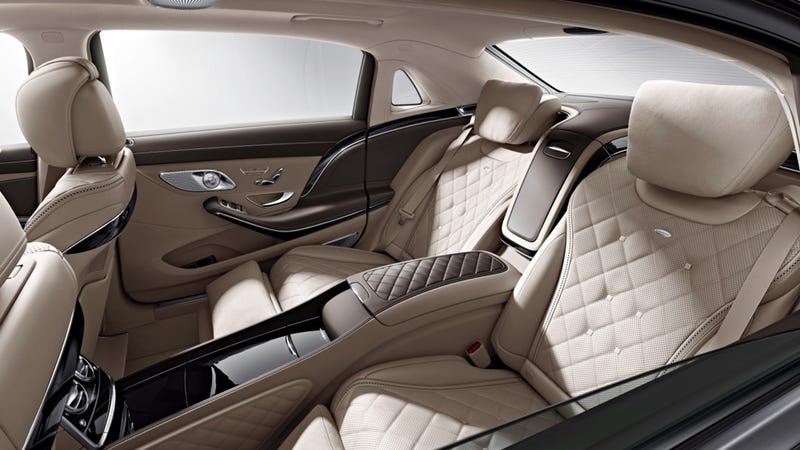 The Mercedes-Maybach S600 Is An Opulent Living Room Encased In A Car