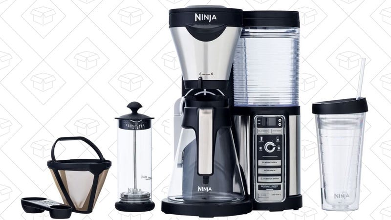 Ninja Coffee Bar with Glass Carafe, $105 after 30% Prime discount