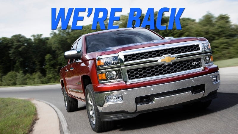 Illustration for article titled Ram Sales Stumble, Chevy Silverado Is Second Place Pickup Truck Again
