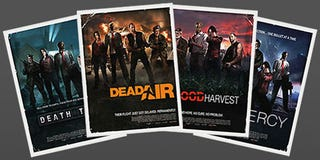 Illustration for article titled Left 4 Dead Movie Posters Get Real