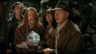 Illustration for article titled Archaeologist suing makers of Indiana Jones, claiming their Crystal Skull is too accurate