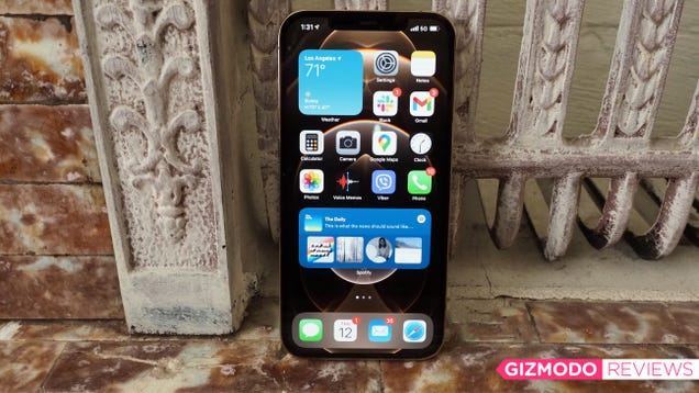 The iPhone 12 Pro Max Is Entirely Too Much Phone, but It s So Good