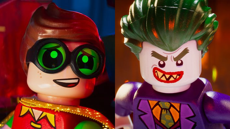 Illustration for article titled The Lego Batman Movie's Robin and Joker Aren't Quite What We Were All Expecting