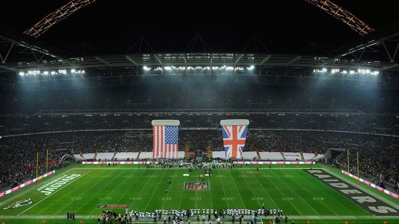 Illustration for article titled Jaguars, Raiders Hold Postseason Exhibition Game In London