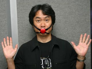 Illustration for article titled Reggie and Miyamoto: Wii Storage Solution Coming, More Betterer Than a Hard Drive