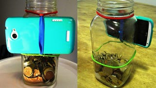 Shoot Stable Smartphone Video with a Mason Jar