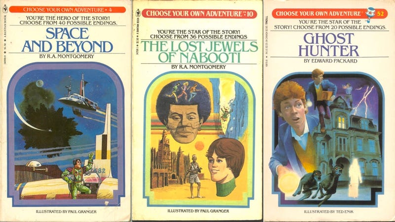 Illustration for article titled Nostalgia Alert: Choose Your Own Adventure Books Now in Digital Form