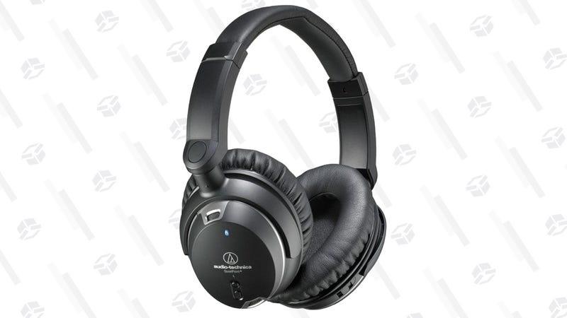 Audio Technica ATH-ANC9 QuietPoint Noise-Cancelling Headphones | $119 | Amazon
