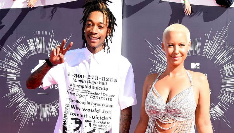 Illustration for article titled Twincest: Amber Rose Caught Wiz Khalifa in Threeway with Twin Sisters
