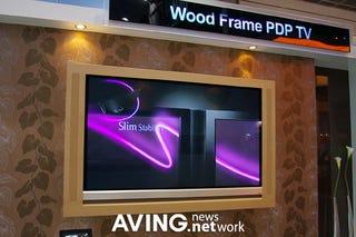 Illustration for article titled LG's Wood TV: Classy Frame, Insane Price